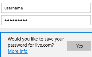 How to manage saved passwords and form entries in Microsoft Edge browser