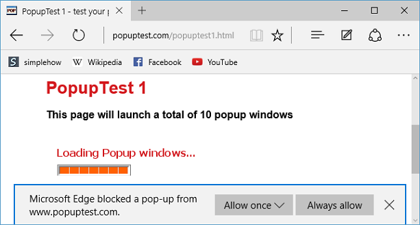 How To Turn Pop-up Blocker ON Or OFF In Windows 10