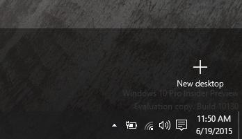Add desktop click