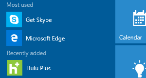 How to hide most used and recently added apps from Windows 10 Start menu