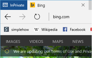 How to open Inprivate Browsing in Microsoft Edge