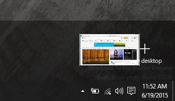 Add desktop drag