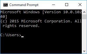 How to open and customize command prompt font, color and transparency in Windows 10