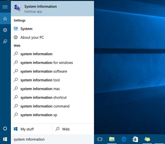 open System Information App