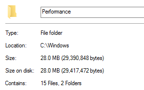 How to check folder size in Windows