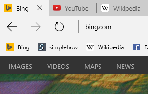 How to enable favorites bar and import favorites in Microsoft Edge