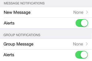How to disable WhatsApp alert notifications on iPhone